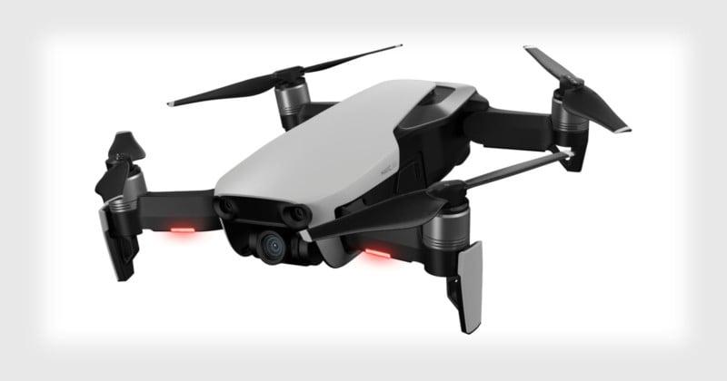 DJI Mavic Air: 4K in DJI's Most Portable Camera Drone Ever