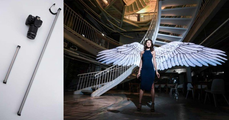 Magilight: An All-in-One Light Painting Stick for 'Painting' Real Images