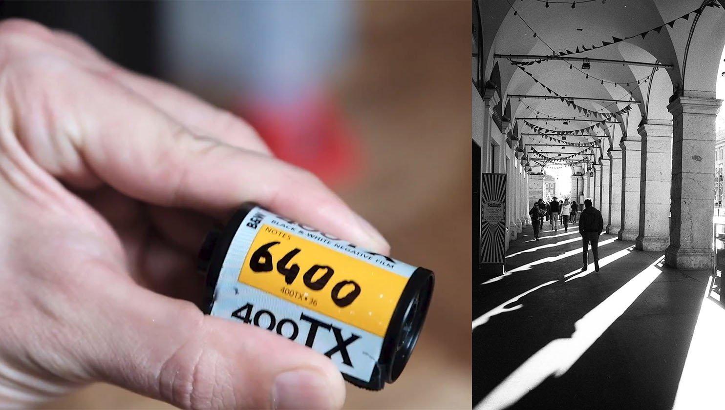 Developing Kodak Tri-X 400, Pushed to 6400