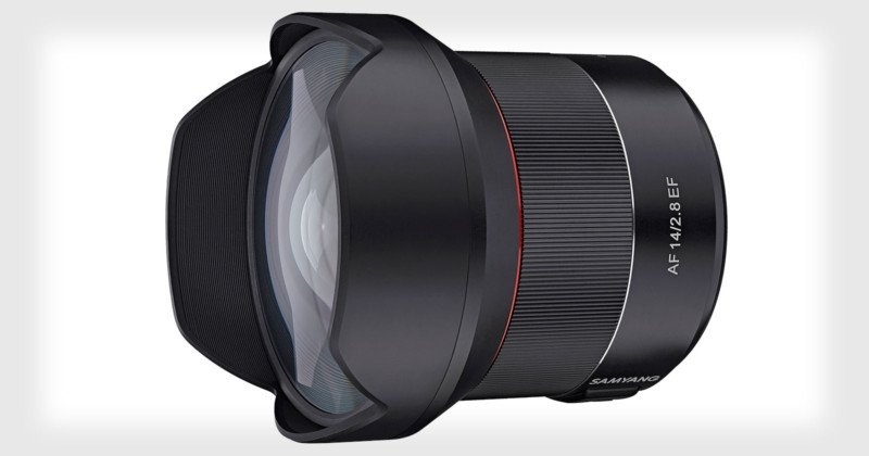Samyang Unveils the 14mm f/2.8 EF, Its First Autofocus Canon Lens