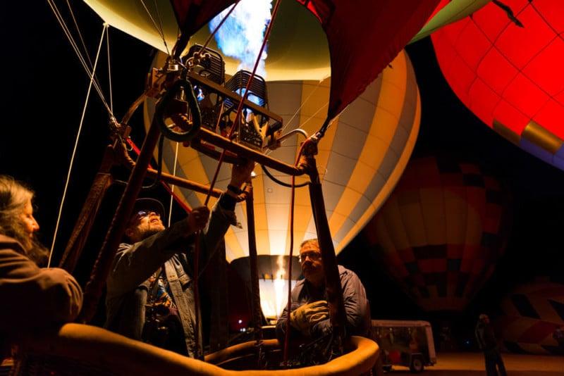 Tipps zum Fotografieren Ihres ersten Heißluftballon Festivals