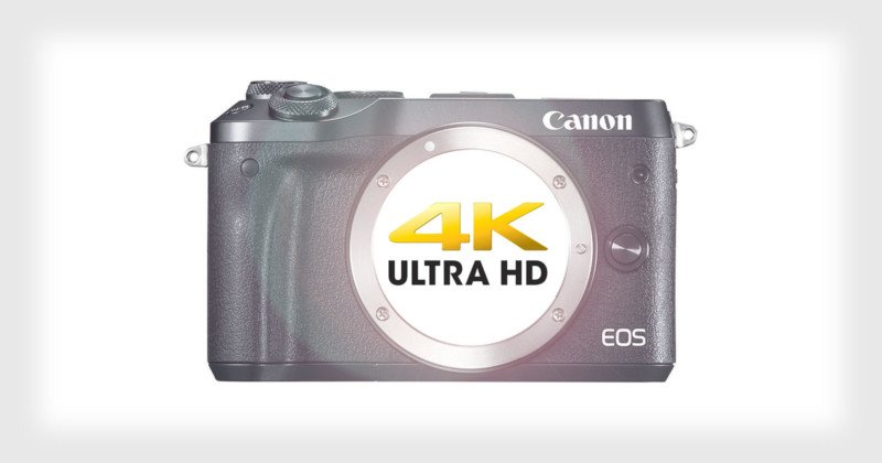 4K Coming to Canon's Mirrorless Line: Report