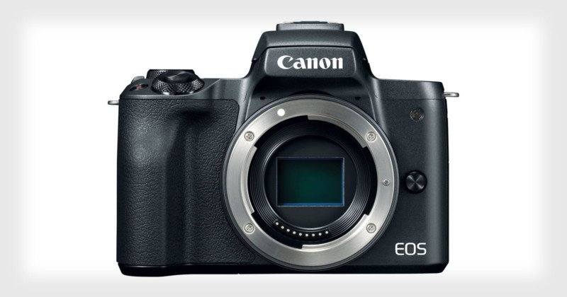 Canon Unveils the EOS M50, Its First 4K Mirrorless Camera