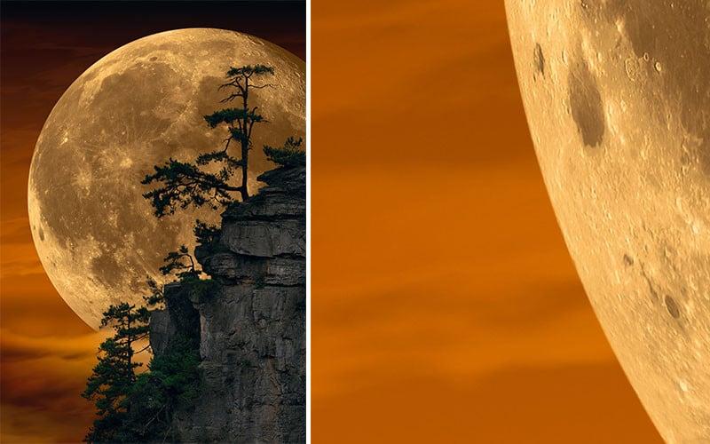 Yes, Peter Lik's 'Moonlit Dreams' IS a Composite