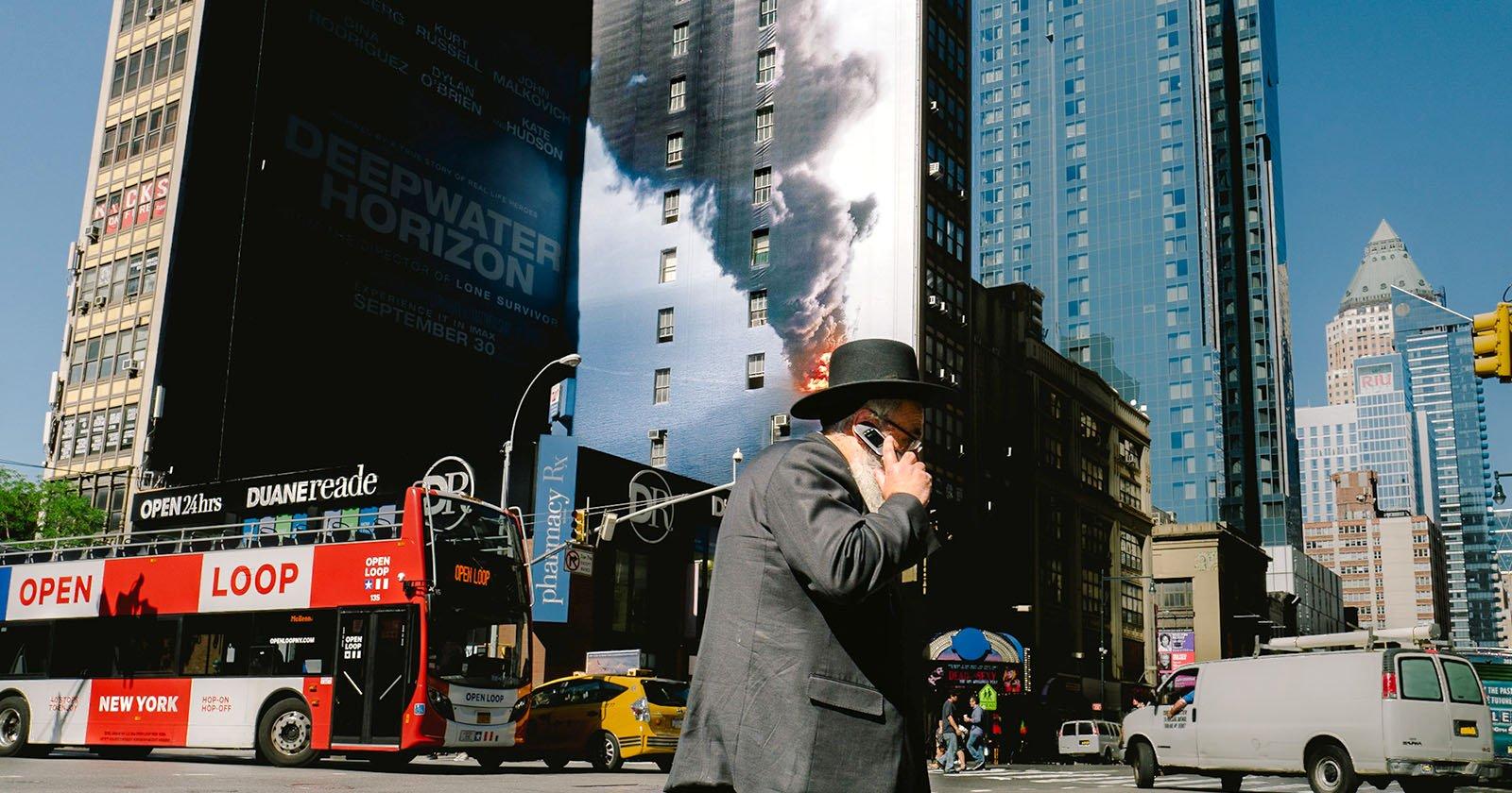 Street Photos of Coincidences on NYC Sidewalks