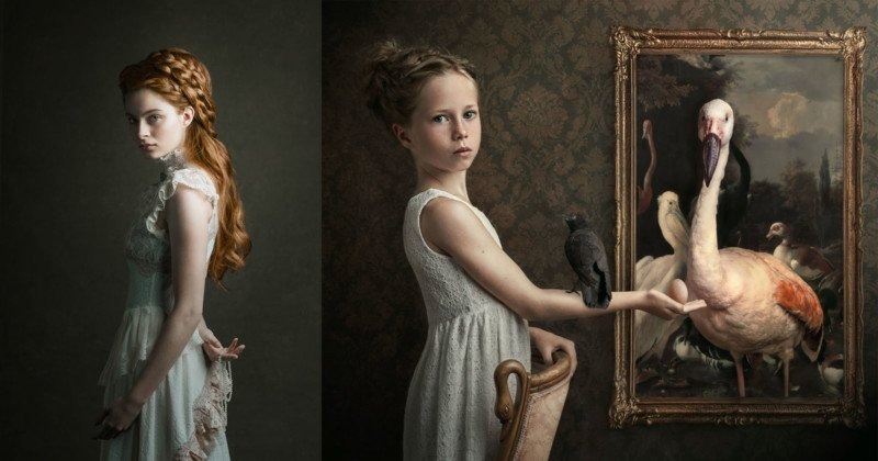 This Photographer Shoots Portraits in the Style of Old Master Painters