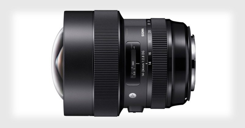 Sigma Unveils the 14-24mm f/2.8 Art Lens with 'Near Zero' Distortion