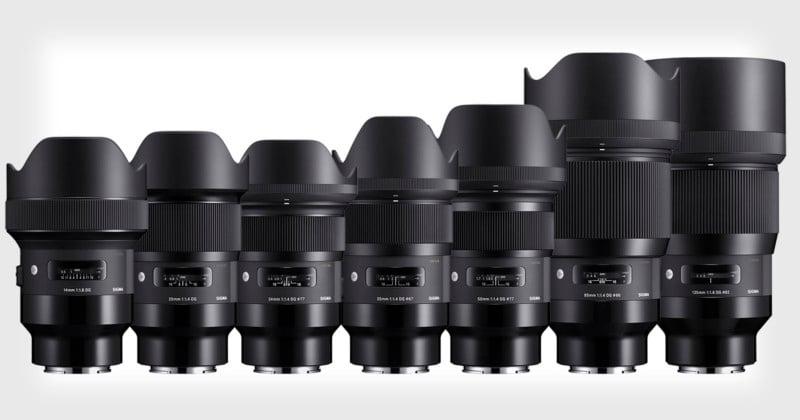Sony E Mount Full Frame Lenses >> Sigma Unveils The First 9 Art Lenses For Sony E Mount