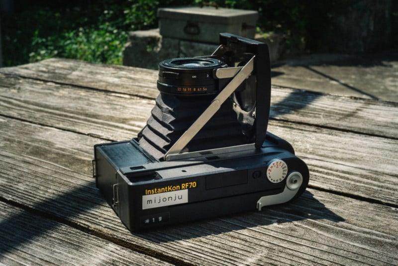 Sneak Peek: The InstantKon RF70 is a Rangefinder Camera for Instax Wide