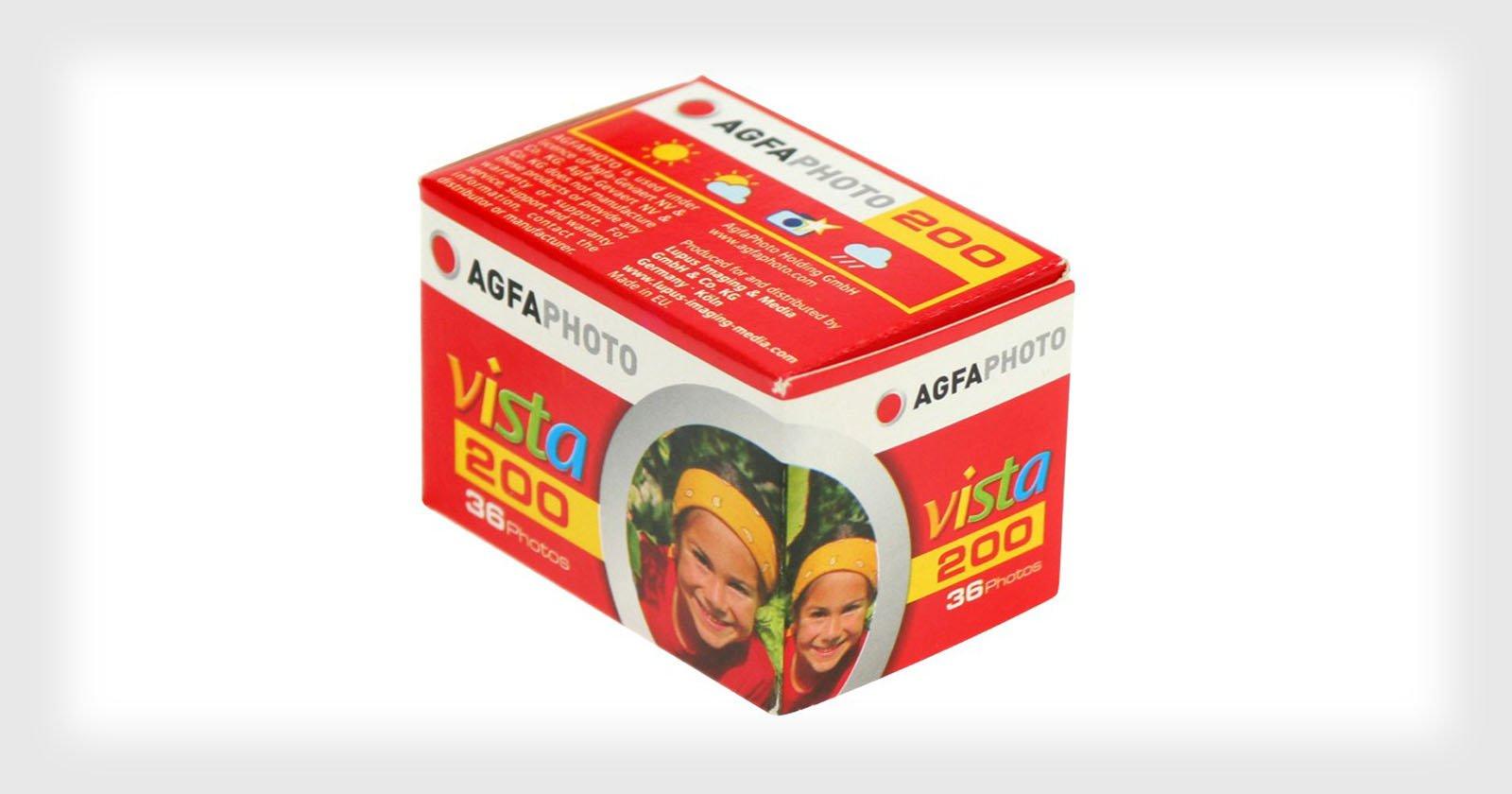 Agfa Vista Film is Dea...