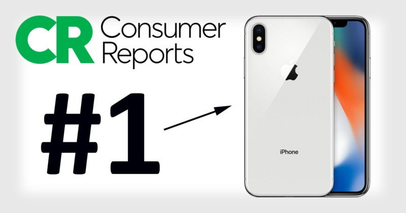 consumer reports: iphone x has the best smartphone camera