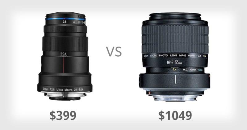 The $399 Laowa 25mm Macro Lens vs the $1,050 Canon MP-E 65mm