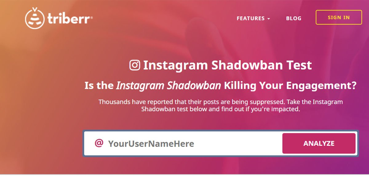 This New Instagram Shadowban Tester Examines Your Last 10 Posts