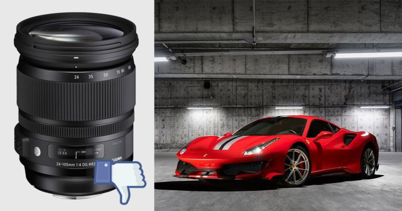 How a Sigma Art Lens Messed Up My Ferrari Photo Shoot