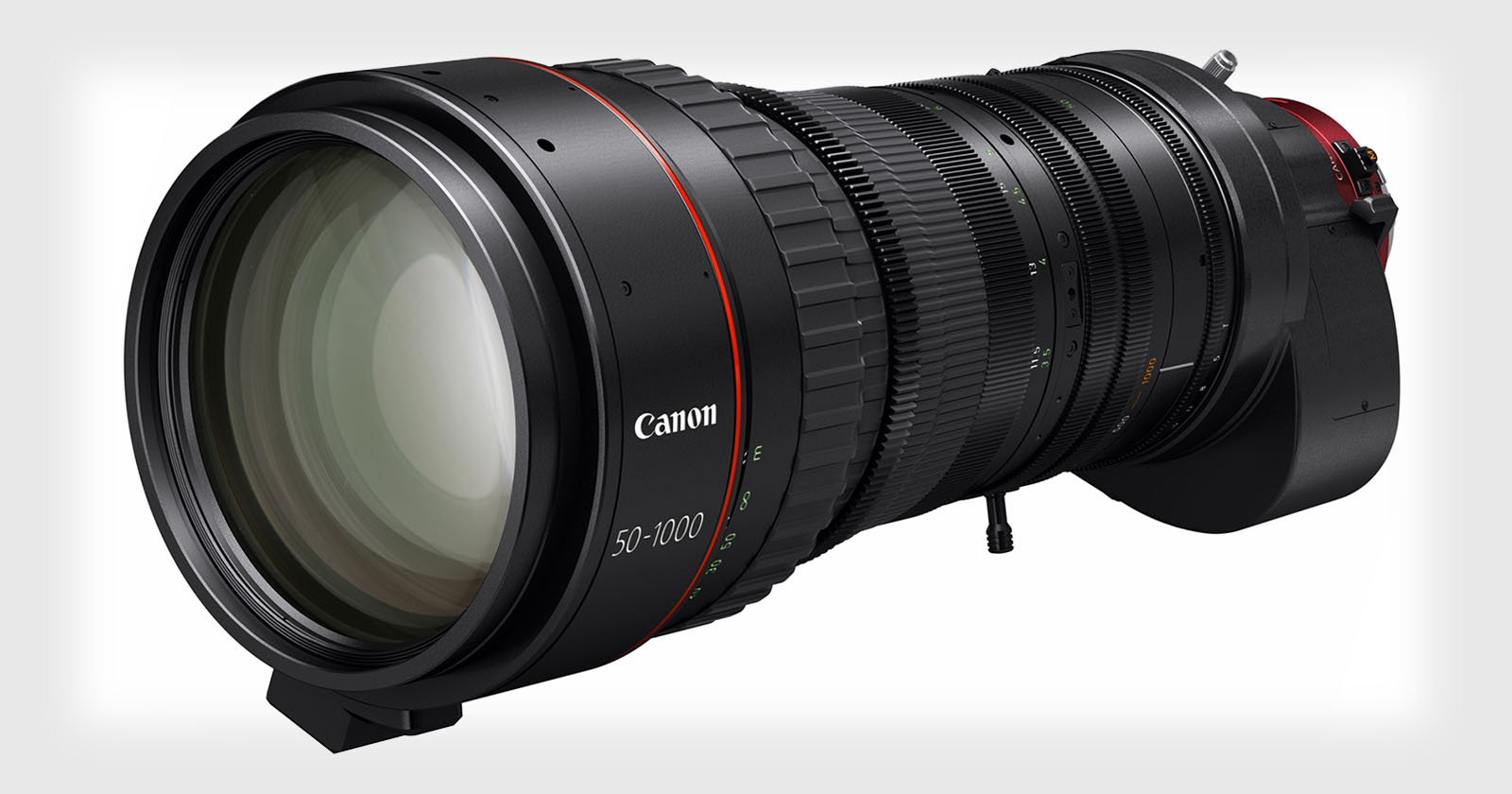 Canon Said 'Challenge Accepted,' and This $70K 50-1000mm Lens Was Born