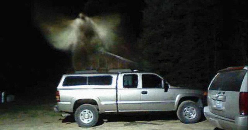 e5a5b05cea Man Claims Photo Shows Angel Above His Truck