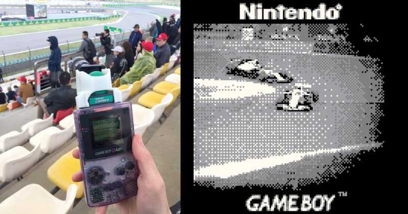 This Guy Shot Formula 1 with a Game Boy Camera