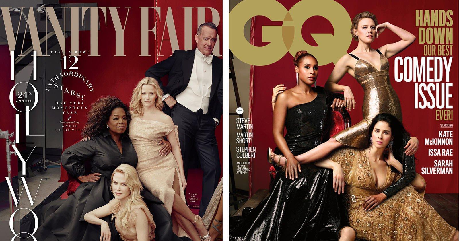 GQ Mocks Vanity Fair Photoshop Fail on Comedy Issue Cover