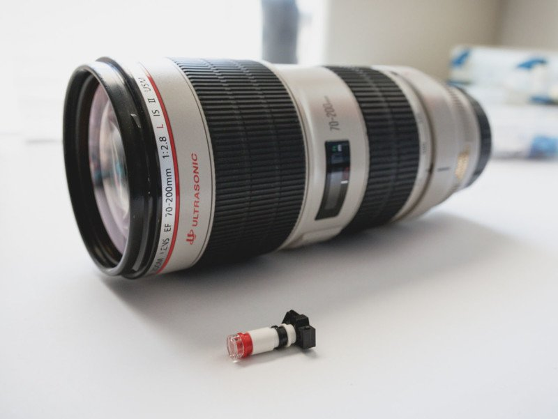 Lego Minifig Camera : Lego minifig photographers need quality lenses too
