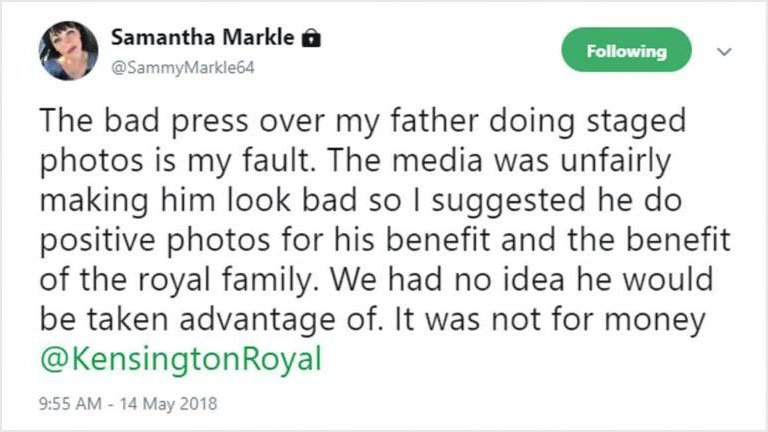 Samantha Markle hospitalised after scathing attack on Meghan