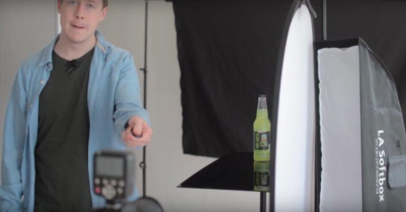 Wie man einen Produktfoto-Hintergrund unter Verwendung eines Smartphone