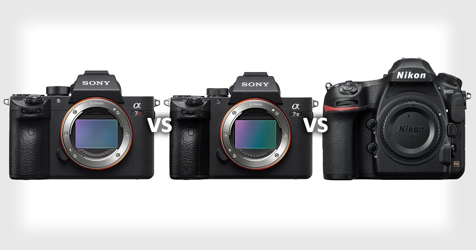 Shootout: Sony a7R III vs Sony a7 III vs Nikon D850