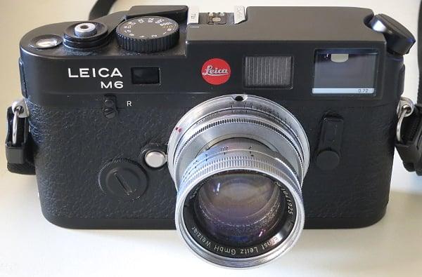 A Radioactive Lens