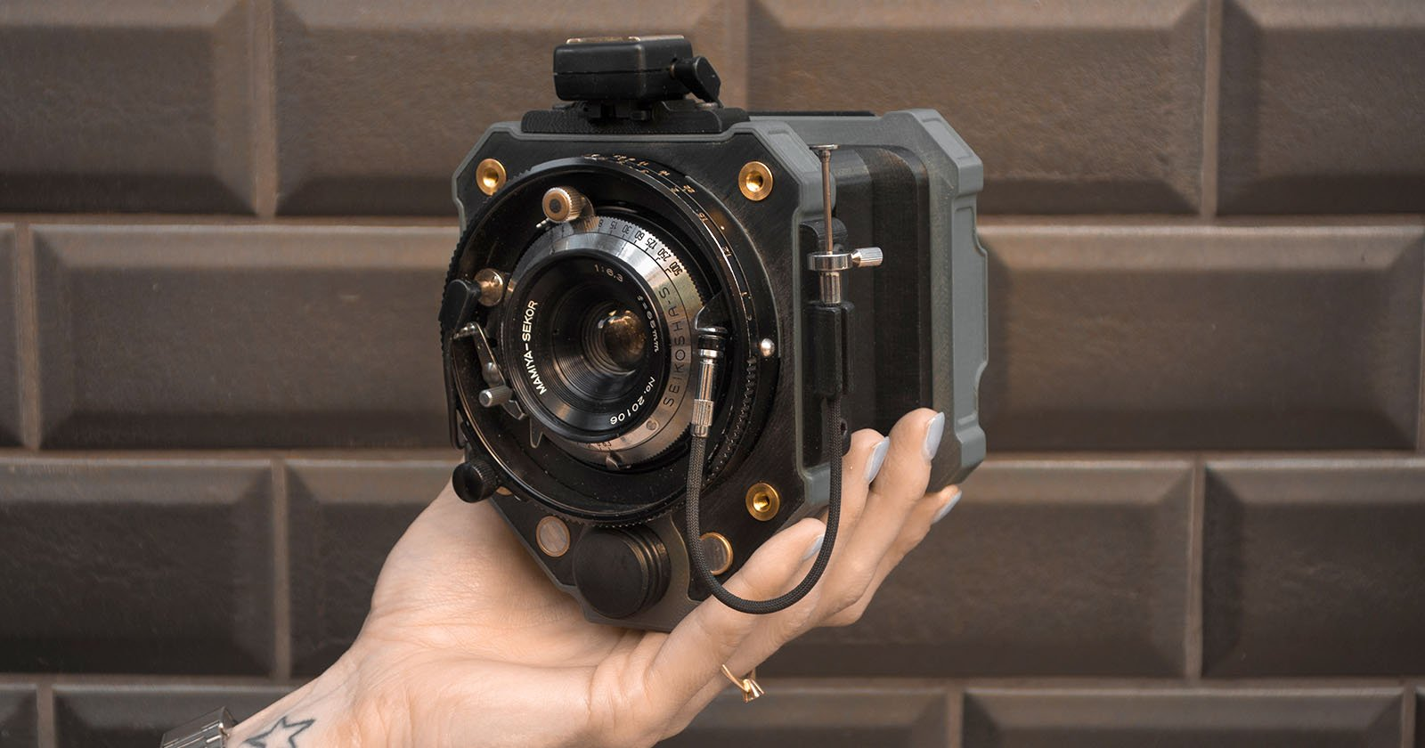 Goodman one is an open source 3d printed analog camera for Camera camera camera