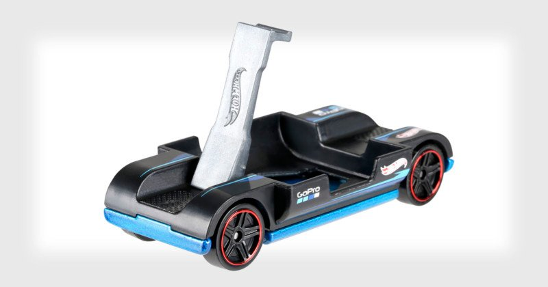 Toy Car Holder Truck : Hot wheels made a toy car with gopro mount