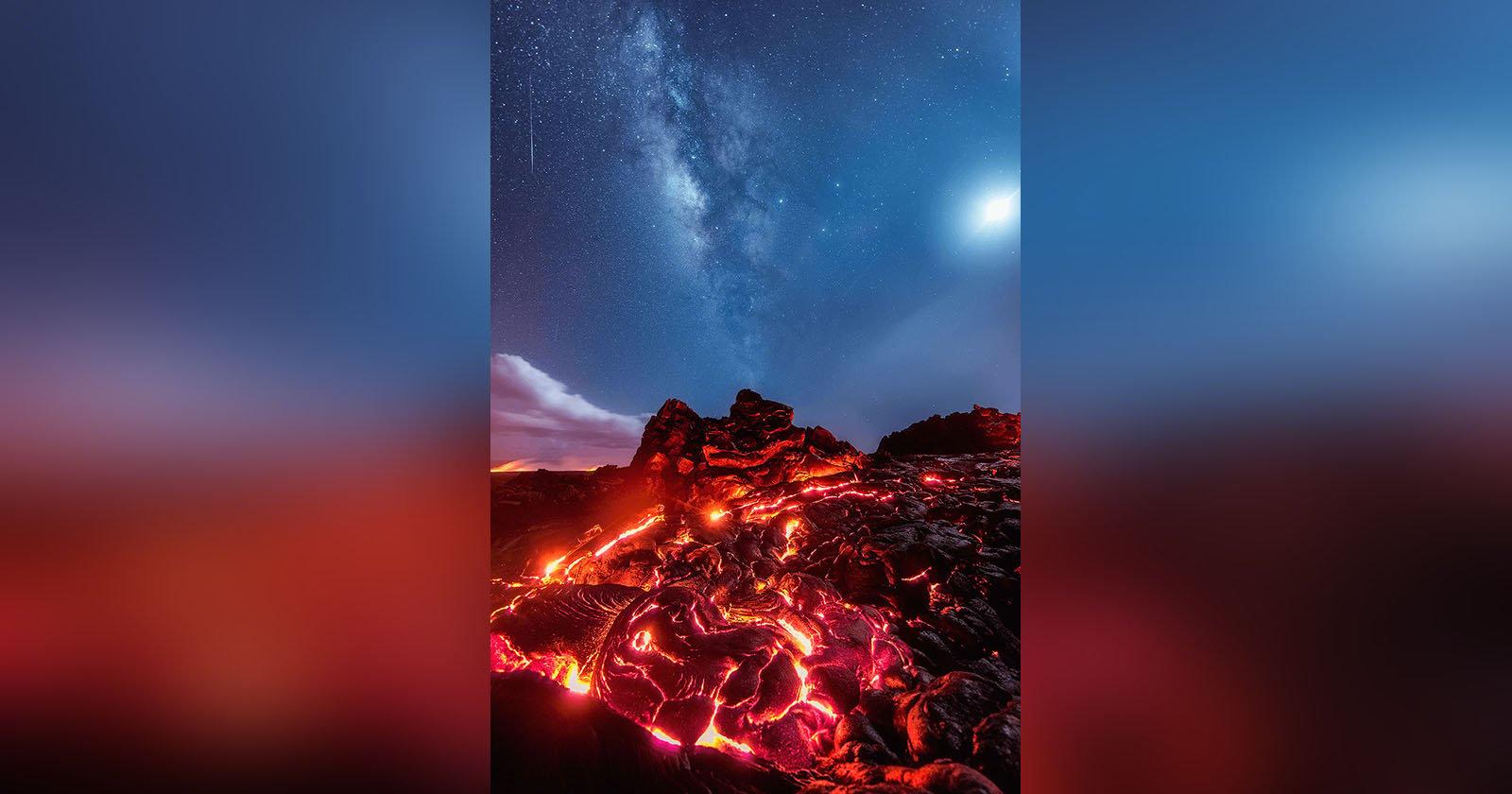 No, I Didn't Fake This Lava Photo