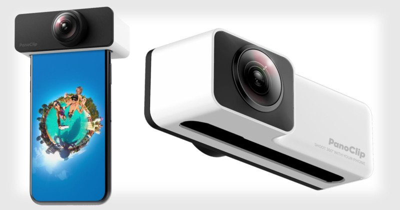 PanoClip Helps You Shoot 360° Photos with Your iPhone's Cameras