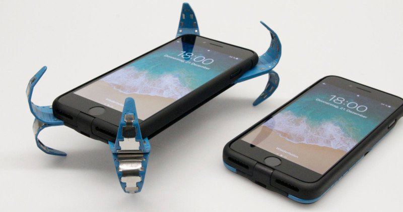 This Smartphone Case Deploys Springy Arms To Survive Drops From Your Butterfingers