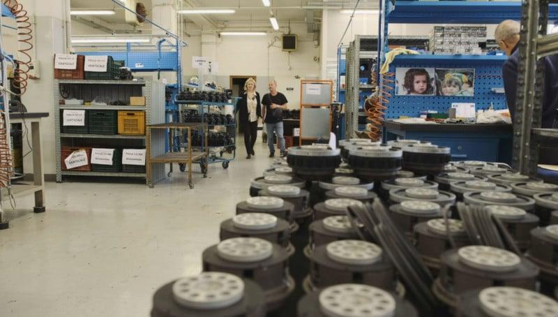 A Tour of the Cartoni Tripod Factory