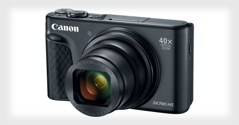 Canon's New PowerShot SX740 HS Pocket Camera Launched With 40x Zoom