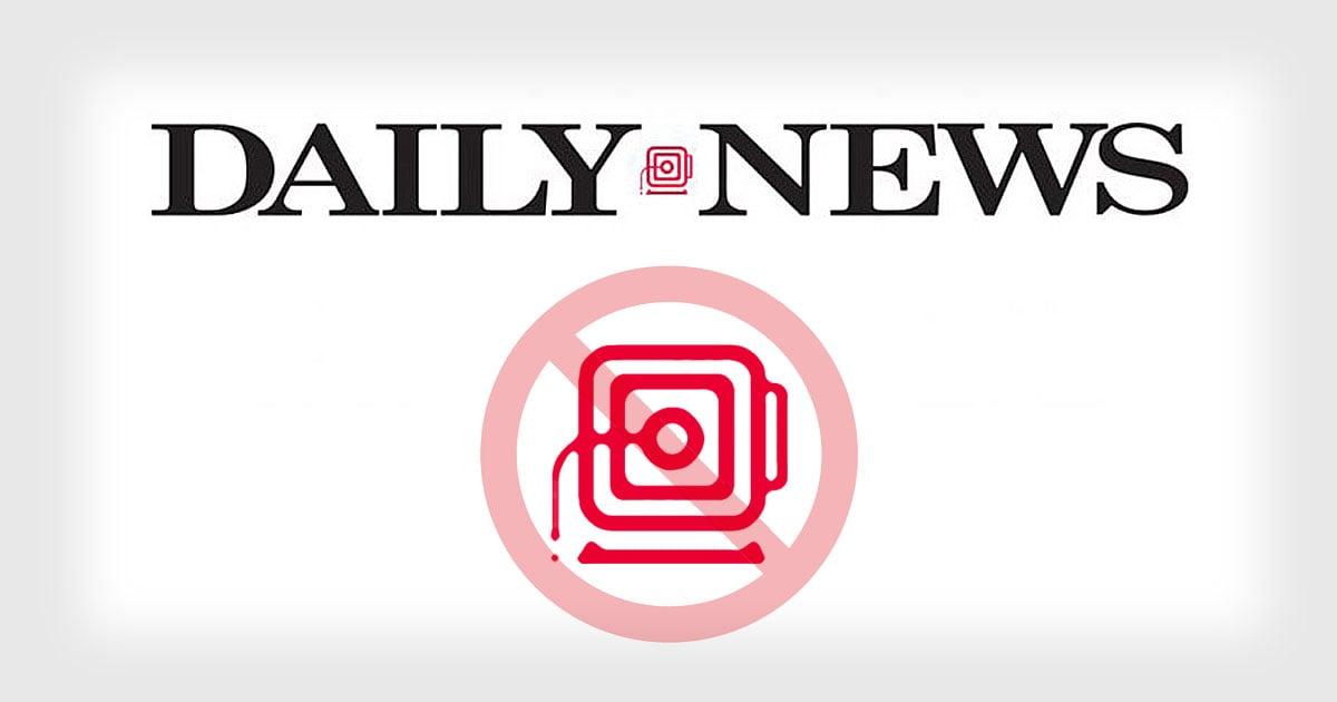 NY Daily News Cuts All Photographers