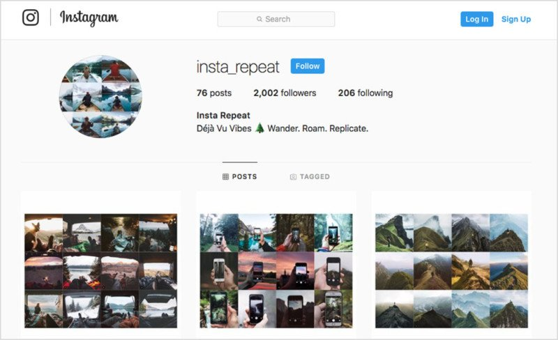 e58b9068 This Instagram Account Shows How Instagram Photos Look the Same