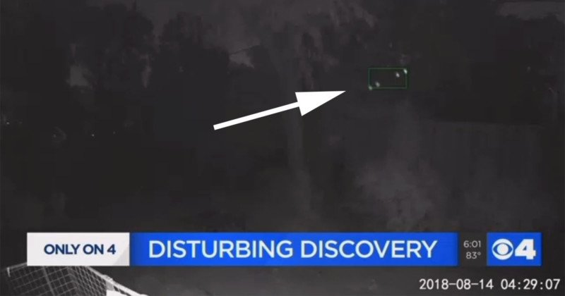 Woman Says Surveillance Cam Caught Drone Spying. Others Aren't So Sure