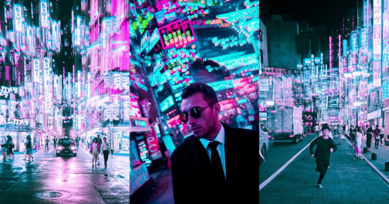 Photos of Tokyo and Seoul Shot Using a Fractal Lens
