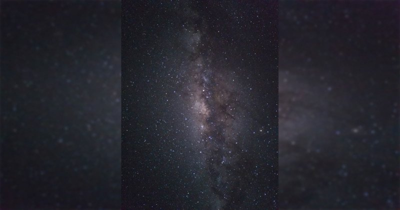 This Milky Way Photo Was Shot on a Phone