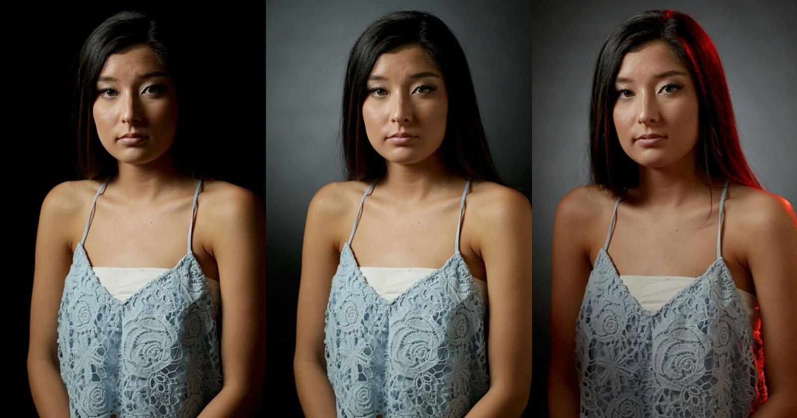 Hier ist ein Intro zu Drei-Punkt-Beleuchtung für Portraits