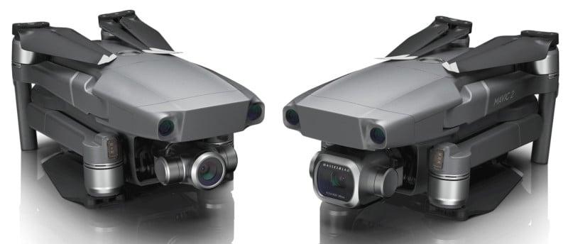 DJI Unveils the Mavic 2 Pro and Mavic 2 Zoom Drones