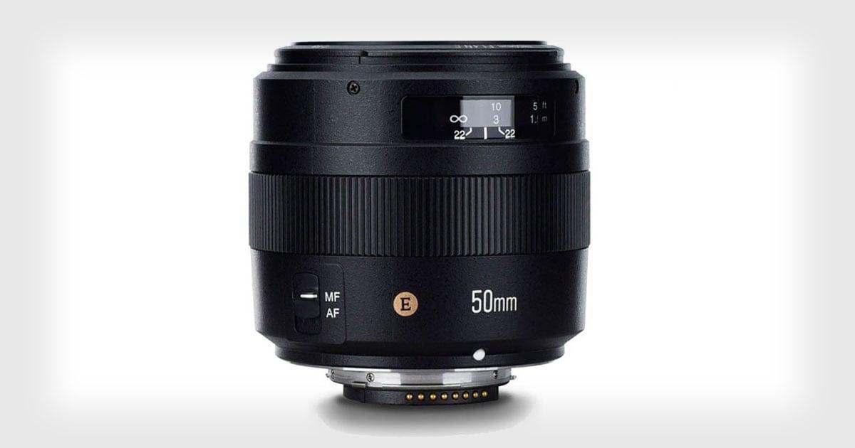Yongnuo Unveils the YN 50mm f/1.4N E for Nikon F Cameras