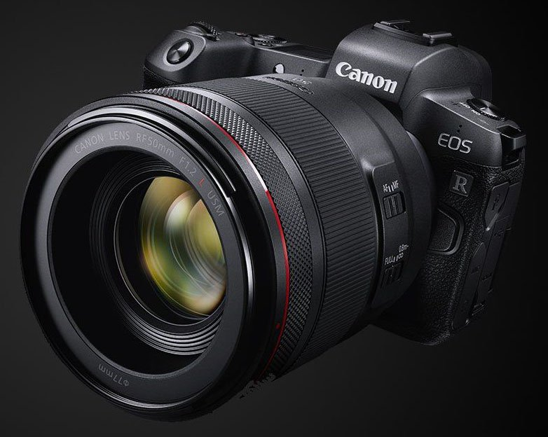 Canon Unveils The Eos R Its First Full Frame Mirrorless