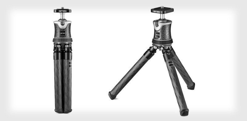 Gitzo Mini Traveler is the Smallest Pro Carbon Fiber Tripod Ever (and $200)