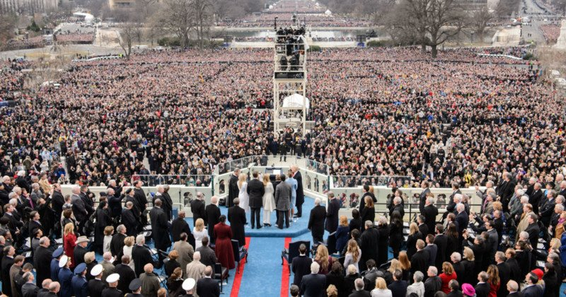 Trump Had Inauguration Crowd Photos Edited, Report Claims