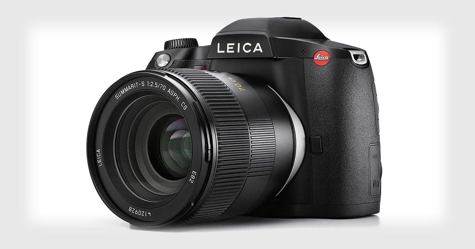 Leica Unveils the S3, A 64-Megapixel Medium Format DSLR