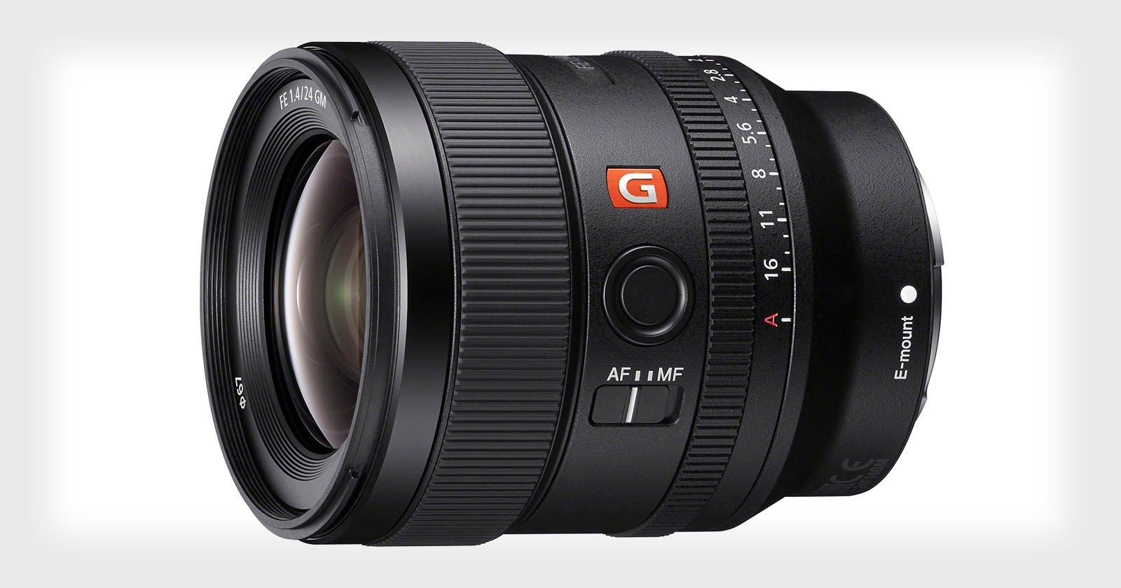 Sony Full Frame Lenses >> Sony Unveils the 24mm f/1.4 G Master Lens