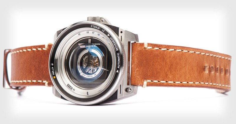 TACS Offers Lens-Inspired Watches for Photography Lovers