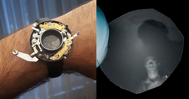 This Guy Turned a Broken Camera Into a Working 'Watch' Camera