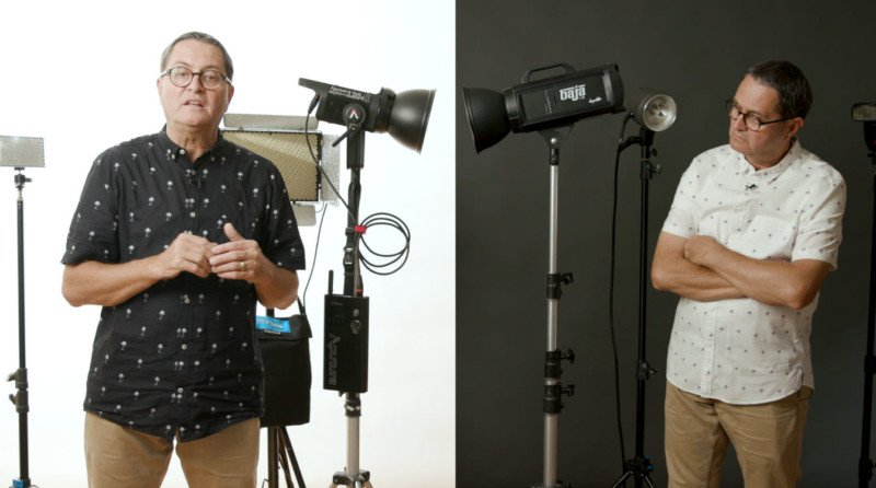 Continuous Lighting Vs Strobes The